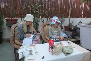 Anna og Frida i Indien